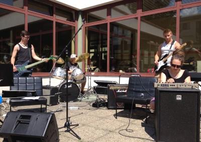 "LBS Neunkirchen – Musik WS ""Band"" – 4.LG  2013|14"