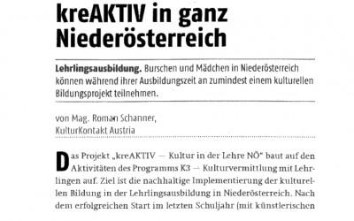 kreAKTIV in ganz Niederösterreich