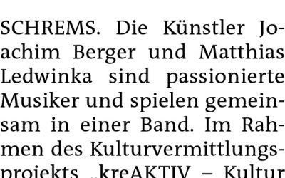 Bezirksblatt Gmünd Feb19_LBS Schrems_Musik WS