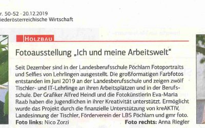 Dez 2019_ Zeitung Niederösterreichische Wirtschaft _LBS Pöchlarn_Foto WS