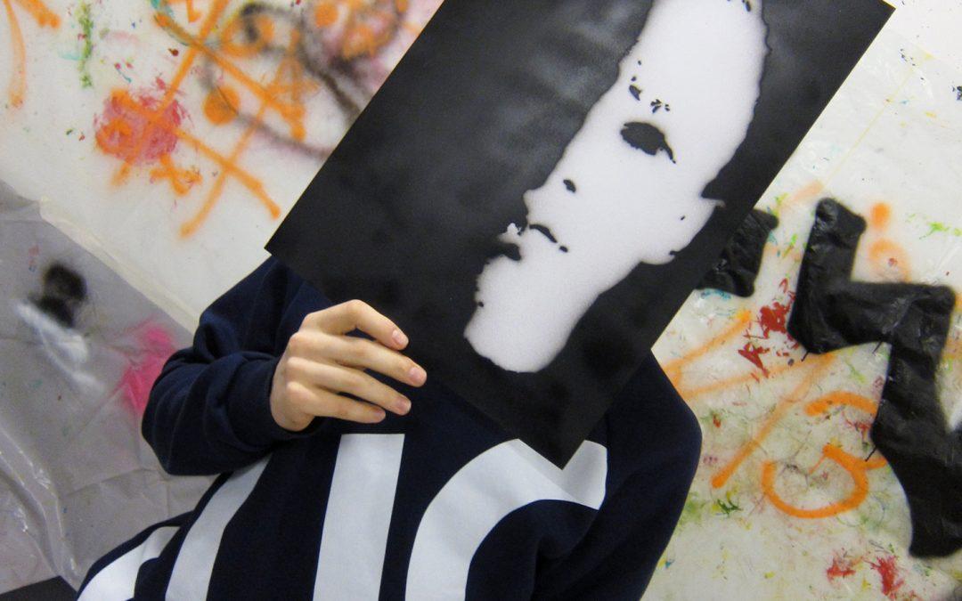 "LBS Waldegg – ""daily news"" – Graffiti Workshop – 3.LG 2019 20"