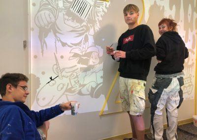 LBS Lilienfeld – Mural Workshop – 1.LG – 2020|21